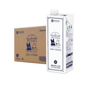 무항생제인증 멸균 우유 730ml (8팩)