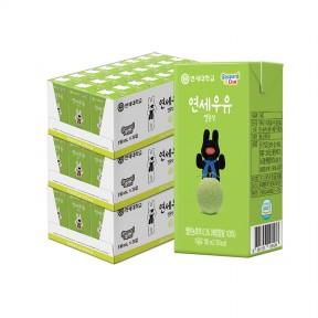 멜론 멸균 우유 190ml (72팩)