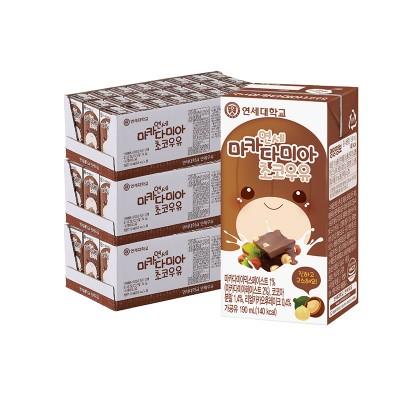 마카다미아 초코 우유 190ml (72팩)
