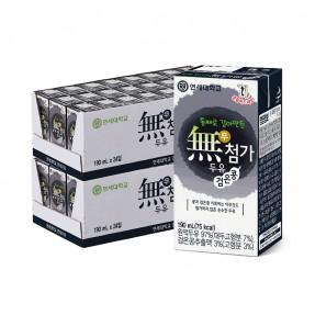 무첨가 검은콩 두유 190ml (48팩)