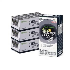 무첨가 검은콩 두유 190ml (72팩)