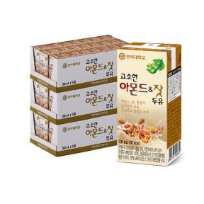 고소한 아몬드&잣 두유 200ml (72팩)