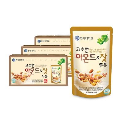 고소한 아몬드&잣 두유 파우치 190ml (60팩)
