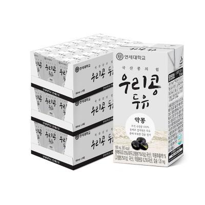 우리콩 약콩 두유 190ml (72팩)