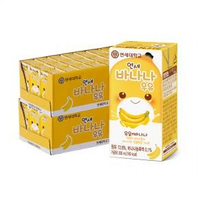 바나나 멸균 우유 200ml (48팩)