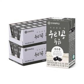 우리콩 검은콩 두유 190ml (48팩)