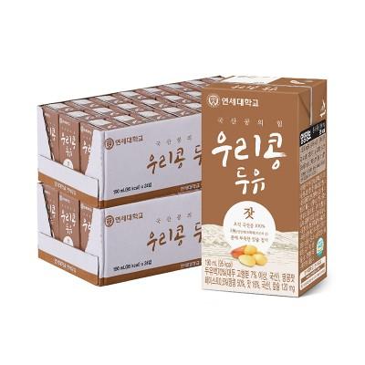 우리콩 잣 두유 190ml (48팩)