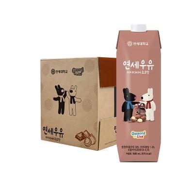 가스파드 마카다미아초코 우유 1000ml (9팩)