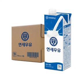 멸균우유 730mL (6팩)