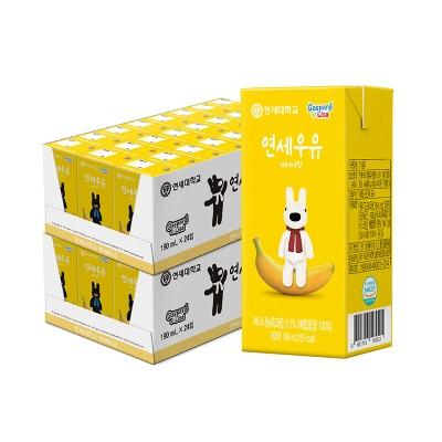 가스파드 바나나 우유 190ml (48팩)