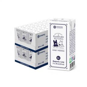 무항생제인증 멸균 우유 190ml (48팩)