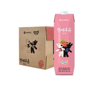 가스파드 딸기 우유 1000ml (9팩)