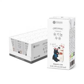 국제인증 받은 유기농 우유 190mL (24팩)